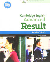 Cambridge English Advanced Result: Teacher's Book with DVD-ROM (книга вчителя з диском) - фото обкладинки книги