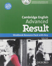 Cambridge English Advanced Result: Workbook with Key with CD-ROM - фото обкладинки книги