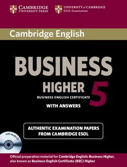 Cambridge English Business Level 5 Higher Student's Book+CD (підручник+аудіодиск) - фото книги