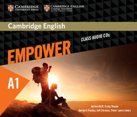 Cambridge English Empower A1 Starter Class Audio CD's (аудіодиск) - фото книги