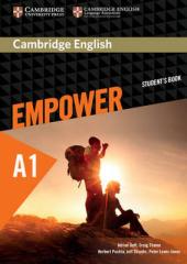 Cambridge English Empower A1 Starter Student's Book (підручник) - фото обкладинки книги