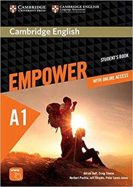 Cambridge English Empower A1 Starter Student's Book (підручник+робочий зошит) - фото книги