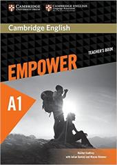 Cambridge English Empower A1 Starter Teacher's Book (книга вчителя) - фото обкладинки книги