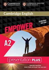 Cambridge English Empower A2 Elementary Presentation Plus DVD-ROM - фото обкладинки книги