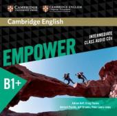 Cambridge English Empower B1+ Intermediate Class Audio CD's (аудіодиск) - фото обкладинки книги