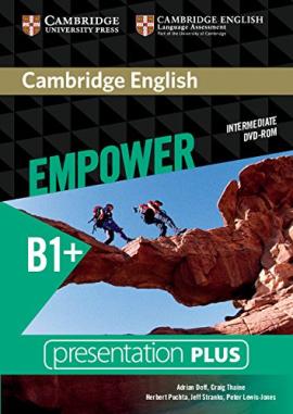 Cambridge English Empower B1+ Intermediate Presentation Plus DVD-ROM - фото книги