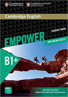 Cambridge English Empower B1+ Intermediate Student's Book+Assesment+Work book (підручник) - фото книги