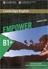 Cambridge English Empower B1+ Intermediate Student's Book (підручник) - фото обкладинки книги