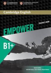 Cambridge English Empower B1+ Intermediate Teacher's Book (книга вчителя) - фото обкладинки книги