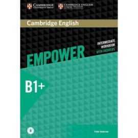 Cambridge English Empower B1+ Intermediate Work Book with Answers+Audio (робочий зошит) - фото книги