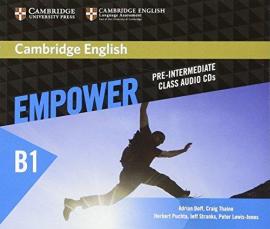 Cambridge English Empower B1 Pre-Intermediate Class Audio CD's (аудіодиск) - фото книги