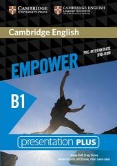 Cambridge English Empower B1 Pre-Intermediate Presentation Plus DVD-ROM - фото обкладинки книги