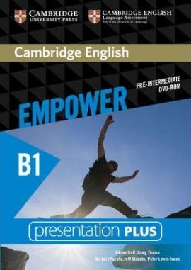 DVD диск Cambridge English Empower B1 Pre-Intermediate Presentation Plus DVD-ROM