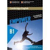 Cambridge English Empower B1 Pre-Intermediate Student's Book (підручник) - фото обкладинки книги