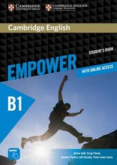 Cambridge English Empower B1 Pre-Intermediate Student's Book with Online Assessment and Practice, and Online WB - фото обкладинки книги