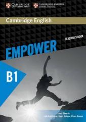 Cambridge English Empower B1 Pre-Intermediate Teacher's Book (книга вчителя) - фото обкладинки книги