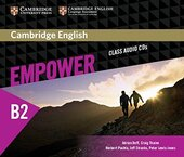 Cambridge English Empower B2 Upper-Intermediate Class Audio CD's (аудіодиск) - фото обкладинки книги