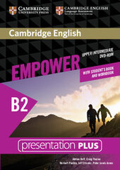 Cambridge English Empower B2 Upper-Intermediate Presentation Plus DVD-ROM (with Student's Book and Workbook) - фото обкладинки книги