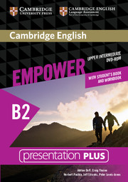 Cambridge English Empower B2 Upper-Intermediate Presentation Plus DVD-ROM (with Student's Book and Workbook) - фото книги