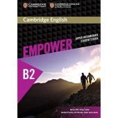 Cambridge English Empower B2 Upper-Intermediate Student's Book (підручник) - фото обкладинки книги