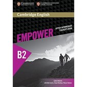 Cambridge English Empower B2 Upper-Intermediate Teacher's Book (книга вчителя)) - фото обкладинки книги