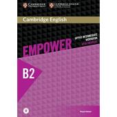 Cambridge English Empower B2 Upper-Intermediate Work Book+Answers (робочий зошит) - фото обкладинки книги