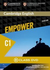Cambridge English Empower C1 Advanced Class DVD - фото обкладинки книги