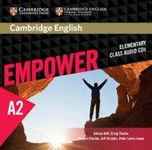 Cambridge English Empower Elementary Class Audio CDs (3) (аудіодиск) - фото обкладинки книги