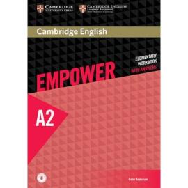Cambridge English Empower Elementary Workbook with Answers + Online Audio (робочий зошит) - фото книги