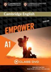 Cambridge English Empower Starter Class DVD (DVD-диск) - фото обкладинки книги