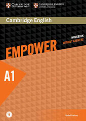 Cambridge English Empower Starter Workbook without Answers+Online Audio (робочий зошит) - фото обкладинки книги