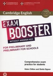 Комплект книг Cambridge English Exam Booster for Preliminary and Preliminary for Schools without Answer Key with Audio