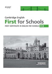 Підручник Cambridge English First for Schools Student's Book