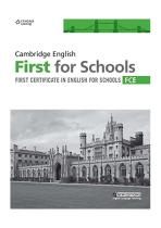 Комплект книг Cambridge English First for Schools Student's Book