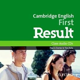 Cambridge English First Result: Class Audio CDs (2) (аудіодиск) - фото книги