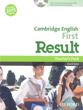 Cambridge English First Result: Teacher's Book with DVD-ROM (книга вчителя з диском) - фото книги