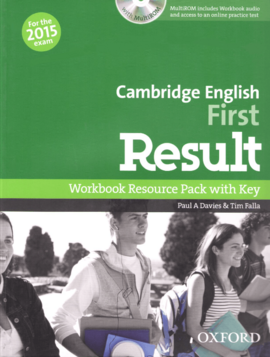 Cambridge English First Result: Workbook with Key with CD-ROM - фото книги