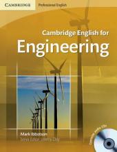 Cambridge English for Engineering Student's Book with Audio CDs (підручник+аудіодиск) - фото обкладинки книги