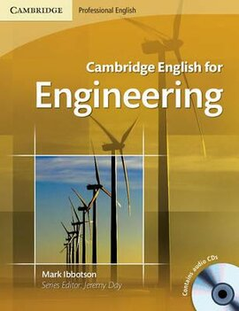 Cambridge English for Engineering Student's Book with Audio CDs (підручник+аудіодиск) - фото книги