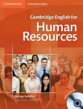 Cambridge English for Human Resources Student's Book with Audio CDs (підручник+аудіодиск) - фото обкладинки книги