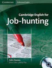 Cambridge English for Job-hunting Student's Book with Audio CDs (підручник+аудіодиск) - фото обкладинки книги