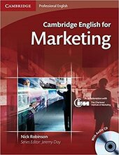 Cambridge English for Marketing Student's Book+Audio CD's (підручник+аудіодиск) - фото обкладинки книги