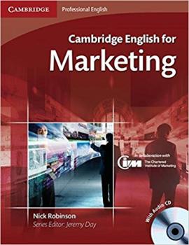 Cambridge English for Marketing Student's Book+Audio CD's (підручник+аудіодиск) - фото книги