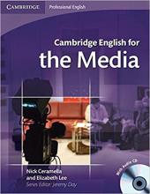 Cambridge English for Media Student's Book+Audio CD's (підручник+аудіодиск) - фото обкладинки книги