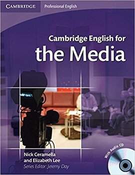 Cambridge English for Media Student's Book+Audio CD's (підручник+аудіодиск) - фото книги