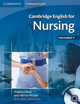 Cambridge English for Nursing Intermediate Student's Book+CD's (підручник+аудіодиск) - фото книги