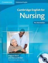 Cambridge English for Nursing Student's Book with Audio CDs (підручник+аудіодиск) - фото обкладинки книги