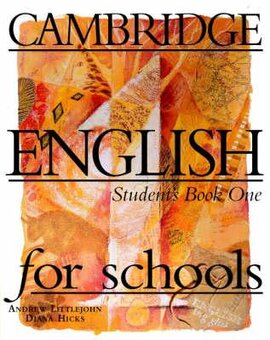 Cambridge English for Schools 1. Student's Book - фото книги