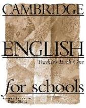 Cambridge English for Schools 1. Teacher's book - фото обкладинки книги