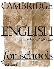 Cambridge English for Schools 1. Teacher's book - фото книги